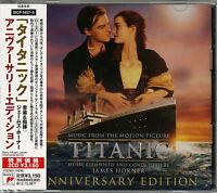 OST-TITANIC ANNIVERSARY EDITION-JAPAN 2 CD Bonus Track G88