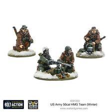 Warlord games bolt action bnib us army 50 cal hmg team winter WGB-WAI-403013004