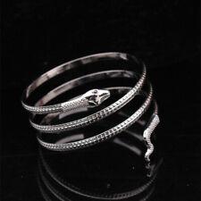 Snake Bracelet Bangle Anklet Upper Goth Rock Punk Band Egyptian Retro Silver