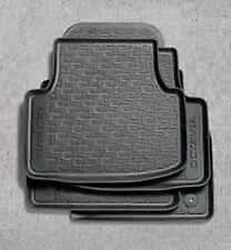 Genuine Skoda Octavia 2017> Rubber Floor Mats / Car Mats - Set of 4 5E2061550
