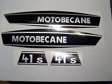 4  AUTOCOLLANTS   MOBYLETTE  41S  MOTOBECANE  MOTOCONFORT