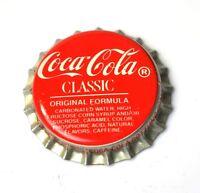 COCA-COLA Clásico COKE TAPA DE BOTELLA EE.UU. Roja Original Formula