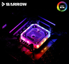 Barrow RGB Water Cooling CPU Block for RyzenAMD/AM4/AM3 Acrylic Chrome