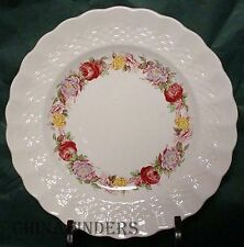 "SPODE china ROSE BRIAR 2/7896 pattern LUNCHEON PLATE 9"" set of EIGHT (8)"