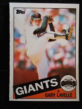 Gary Lavelle 1985 Topps Tiffany Card