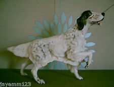 BESWICK DOG ENGLISH SETTER WITH CERAMIC PLINTH  MODEL No 2986 SPIRITED DOGS