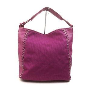 Christian Dior Shoulder Bag Trotter Pinks Nylon 1719520