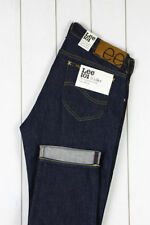 Lee Indigo, Dark wash Regular Skinny, Slim Jeans for Men
