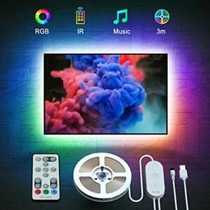 Govee LED TV Backlight, Music Sync USB Powered LED Strip Lighting Kit
