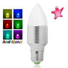 Outdoors Lighting LED Color Light Bulb Wireless Remote control E27 waterproof