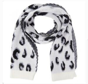 Woman Ladies Scarf Large Leopard Print Pashmina Winter Luxury Cashmere Blend