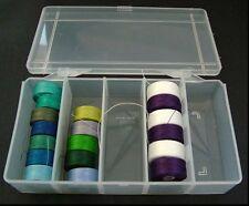 Bobbin Box Plastic Storage For C-Lon Nymo Sewing Machine Reels