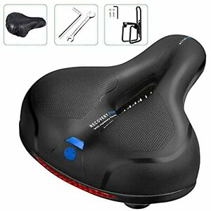 Comfortable Men Women Bike Seat C99 Memory Foam Padded