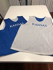 Game Worn Used Adidas Kansas Jayhawks Basketball Practice Mesh Jersey 3XL