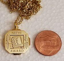 2018 NEPHI AWARD SEMINARY Pendant w/Chain / LDS