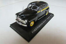 VOITURE MINIATURE 1/43 DE COLLECTION FORD FORDOR SEDAN TAXI ISTANBUL ANNÉE 47