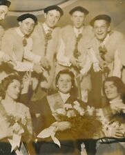 Fête des Landais 1957 - La Reine Jeunes garçons sur leurs Échasses - PR 1116