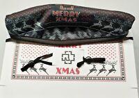 Rammstein Weihnachtskarte 2020 Mund-Nase-Maske Inkl. gedruckter Autogramme  Neu