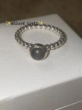 100% Genuine Pandora Sterling Silver Birthstone Ring June Moonstone 🌚 Size 58