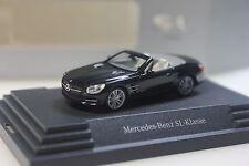 Herpa Mercedes SL (R231), schwarz metallic - dealer PC - 0101 - 1/87