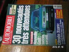 µ?b Revue L'Automobile Magazine n°615 Alexander Wurz Norbert Haug Mini au japon