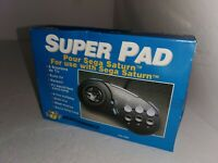 NEW IN BOX Super Pad 8 Turbo Controller for Sega Saturn made by Performance B36