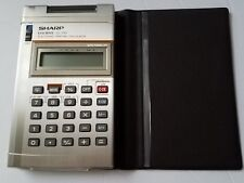 Sharp EL-1195  calculator Vintage Thin man Electronic Printing Calculator AS IS