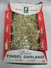 Vintage Wide George Franke & Sons Christmas Tree Tinsel Garland (A4)