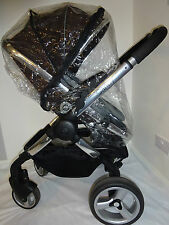 New RAINCOVER Zipped to fit iCandy Peach Blossom Carrycot & Seat Unit pushchair