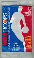 1989 NBA Hoops Basketball 15 card Sealed pack Possible David Robinson RC Rookie