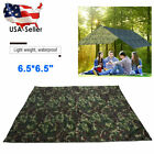 2.2m Waterproof Camping Shelter Lightweight Rain Fly Tent Tarp Camouflage Tent