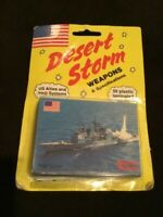 DESERT STORM CARDS  DSI  1991 WEAPONS & SPECIFICATIONS  50 CARDS  VINTAGE  NEW