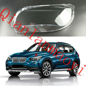 Left Side Lucency Headlight Cover With Glue For BMW E84 X1 2013-2015
