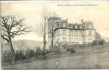 CP 12 Aveyron - Près Villefranche-de-Rouergue - Château de Magnac