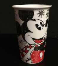 """Mickey Mouse Mug/Cup """"Christmas Magic is Everywhere"""" Disney Drawing Insulated"""