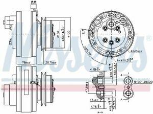 Nissens (890368) Kompressor, Klimaanlage für MERCEDES