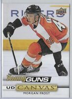 2019-20 Upper Deck Morgan Frost Young Guns Canvas Rookie SP No. C238
