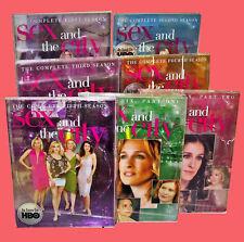 Sex and the City COMPLETE SERIES ● Seasons 1, 2, 3, 4, 5, 6a, 6b ✚ Bonus MOVIE