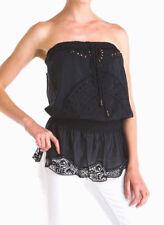 HALE BOB Embellished Sweet Sensations Silk Blend Tunic Top Blouse NWT M $235 NEW