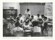 "*Utah Postcard-""Classroom @ The Baker Academy"" -1950's- *Ogden, UT (H6)"
