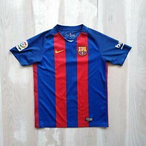 Neymar Barcelona Jersey Home football shirt 2016 - 2017 Nike 777029-481 Young L