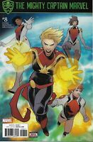 Mighty Captain Marvel Comic 8 Cover A First Print 2017 Margaret Stohl Bandini