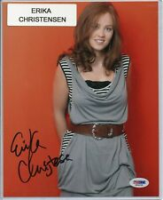 Erika Christensen Actress Signed 8x10 Photo Autographed PSA/DNA COA Parenthood A