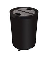 New Glass Top Barrel Drink Electric Impulse Cooler Refrigerator Idw G 77 8675