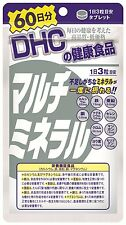 New DHC supplements Multimineral for 60 days 180 tablets Japan Free Shipping F/S