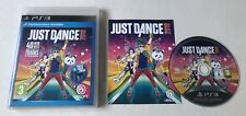 Just Dance 2018 Sony Playstation 3 PS3 (mover requerido) completo PAL