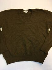 Vtg Braemar 100% Cashmere Sweater Men's M Robinson's California Made In Scotland