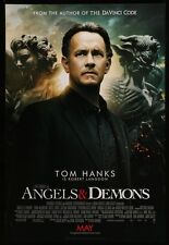 ANGELS AND DEMONS - 2009 Orig D/S 27x40 Movie Poster- TOM HANKS - INTL STYLE