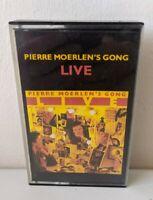 Vintage Cassette Tape Pierre Moerlen's Gong Live 1979 Virgin Music BMG