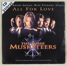 The three Musketeers CD's Bryan Adams, Rod Stewart, Sting 1994